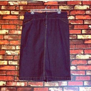 3/$20🌵Size 14 Denim Skirt